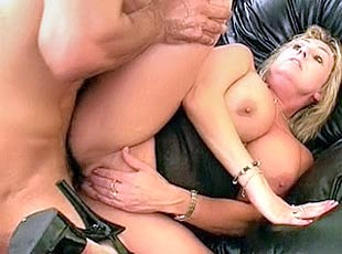 4 clips! Hot MILF gets her unshaved slit cock banged