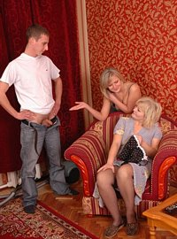 10 incest picts! Brother and sister pay a cum-drenched visit to granny!