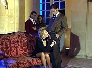 3 clips! Voyeurs Get Tempted in Mansion