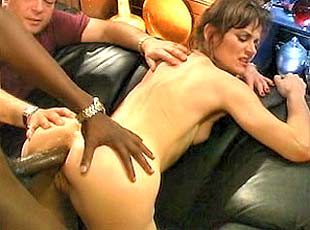 3 clips! Naughty Karla sticks a huge throbbing cock in her bubbly butt