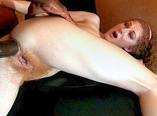 3 clips! Horny chick gets hairy creampied
