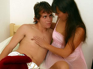 Mommys got some pics 4U  see her get banged by her own teenage son!