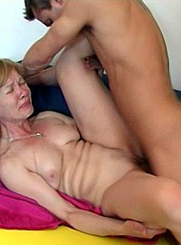 14 incest picts! Horny mature lady is having wild sex with a young boy.!