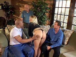 4 clips! Young makes mature moan